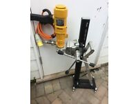 WEKA DK17 diamond core drill and HEKKER RIG, 110v