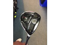 TAYLORMADE R15 3 WOOD. STIFF FLEX. GOOD CONDITION