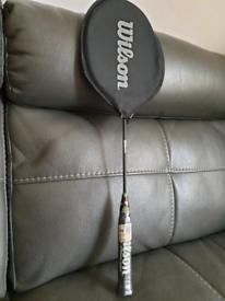 Wilson badminton racket