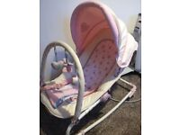Pink musical bouncer