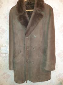Bailey sheepskin coat