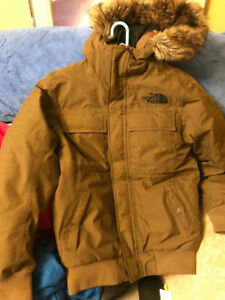 The North Face Gotham II Jacket - Small (Dark Brown Color)