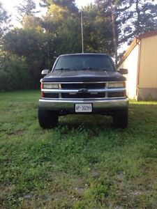 94 Sierra with Chevy front grille