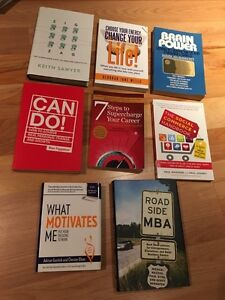 Self help and business books