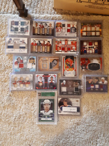 Higher End Jersey/Auto/SP Numbered Hockey Cards