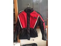 Women's Motor Cycle Jacket and Trousers