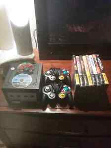 Nintendo GameCube, with 10 games, 2 Controllers, and Memory Card