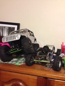Rc crawler and drift