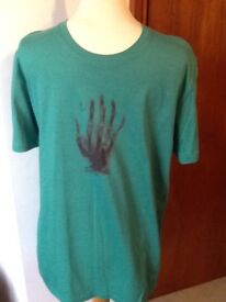 🎄Mens Paul Smith green T shirt small brand new