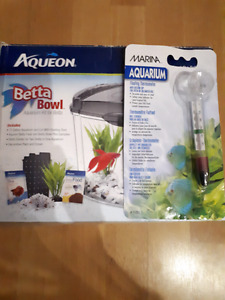 Aqueon Betta Bowl Aquarium