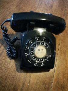 Vintage Rotary Dial Landline Phone