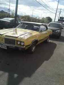 72 CUTLASS CONVERTIBLE