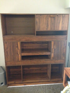 Beautiful Vintage Wall Unit *PRICE DROP*
