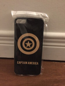 Étui iPhone5/5s/5se Captain America (neuf)