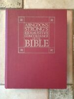 ABINGDON'S STRONG'S EXHAUSTIVE CONCORDANCE OF THE BIBLE