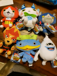 Yo-kai watch plush toys