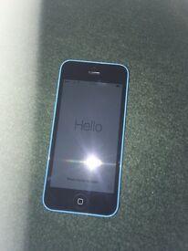 i phone 5c 8gb blue locked to EE