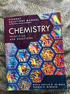 Chemistry Principles And Reaction 7th Edition + Solutions Manual Edmonton Edmonton Area image 2