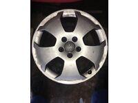 Audi a3 wheels 5x112 no tyres