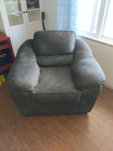 NEED GONE ASAP! Sealy microsuede couch set.