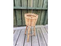 Bamboo plant pot stand – 2 foot high.