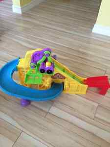 Little People Car Track and Lift