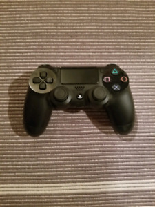 Black Controller PS4