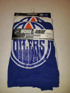 Edmonton Oilers Home & Away Fitted Boxers