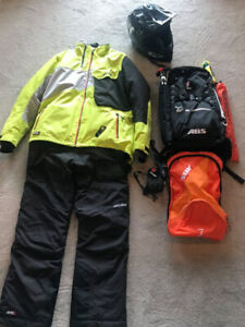 Snowmobile Gear and Equipment Package - Will Sell Separately
