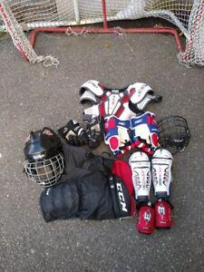 équipements hockey pour enfant