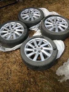 """4 mags 17"""" - Mazda - negociable"""