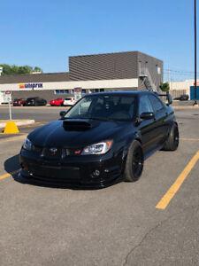 Subaru STI flared