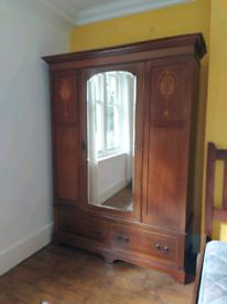 19th century vintage Armoir closet, german made