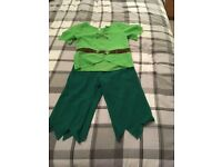 Elf/ Peter Pan? Costume age 7-8 Halloween