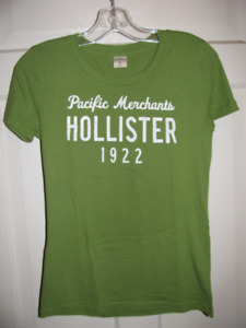 Hollister and Abercrombie t-shirts and long sleeved shirts