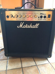 Amplificateur de guitare Marshall MG series 15CDR