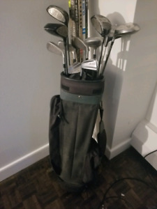 Left Handed Golf Clubs + Bag