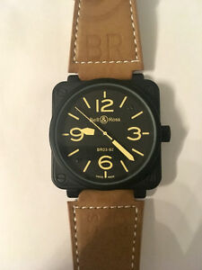 Brand new Bell & Ross BR03-92 Heritage (automatic movement)