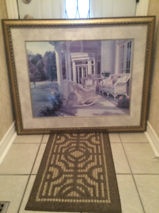 Large Picture in like new condition size 43 by 35 inches