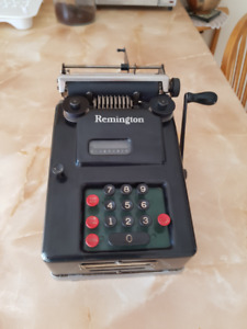 Remington calculator from 1930's