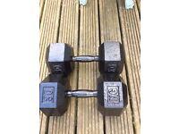 Cast Iron 30KG Dumbbells