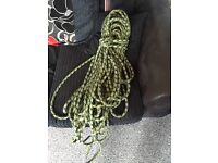 Climbing rope used