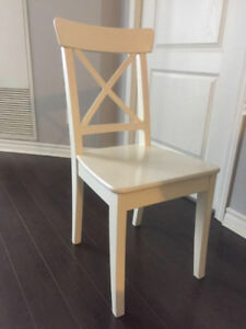 Dining Table and two chairs from Ikea