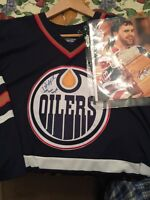 Bill Ranford Autographed Jersey