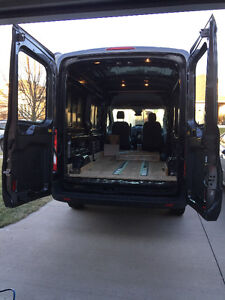REDUCED 2016 Ford Other 250 HIGH ROOF CARGO VAN (WITH WORK)