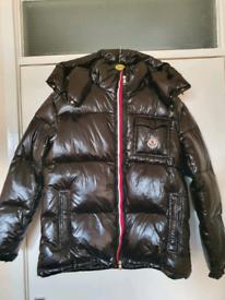 Moncler down jacket. 120 size medium