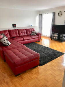 Large 2bedroom appartment for rent. 1453 rue Giovanni caboto.H8N