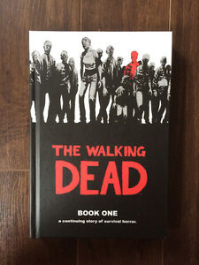 Walking Dead Hardcover Books 1-8