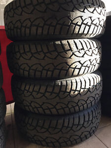 Practically Brand New Snow Tires! 265/70R17