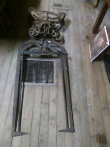 Antique Old lose hay lift  for barns